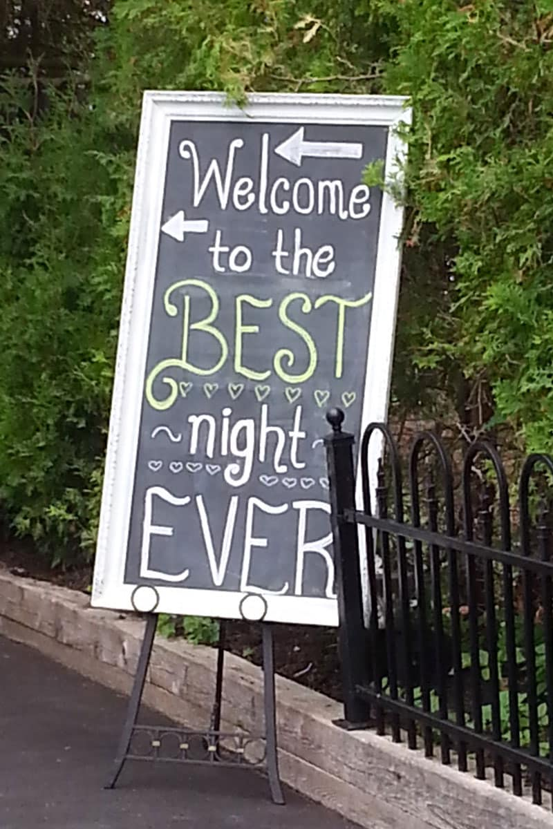 Welcome to the best night ever